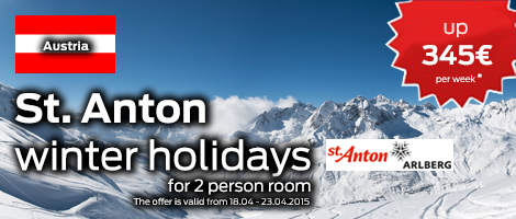 Holidays in St.Anton